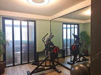 140平米三室两厅现代简约风格健身房图片