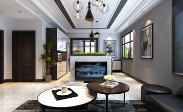 15-20万140平米三室两厅混搭风格客厅装修案例