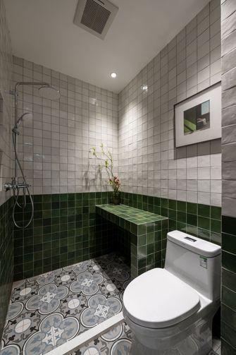 富裕型100平米美式风格卫生间设计图