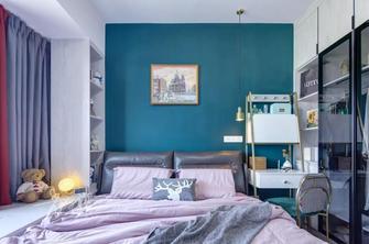 90平米三室一厅轻奢风格卧室效果图