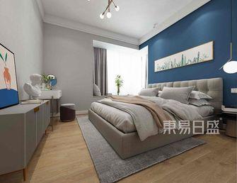 10-15万120平米四北欧风格卧室设计图