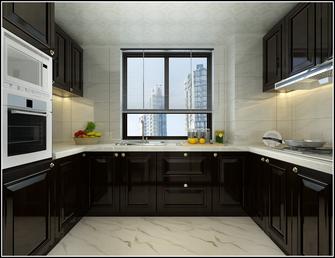 富裕型140平米三室两厅中式风格厨房装修效果图