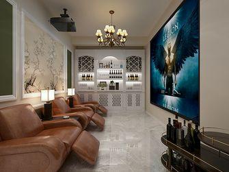140平米四室两厅美式风格影音室装修图片大全