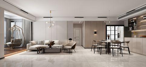 富裕型120平米四室两厅现代简约风格餐厅装修案例