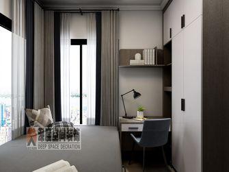 经济型120平米四室两厅现代简约风格书房图片