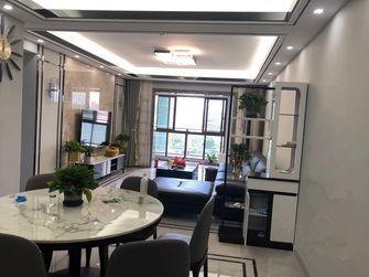110平米三现代简约风格餐厅欣赏图