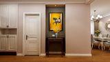100平米三室一厅法式风格玄关欣赏图