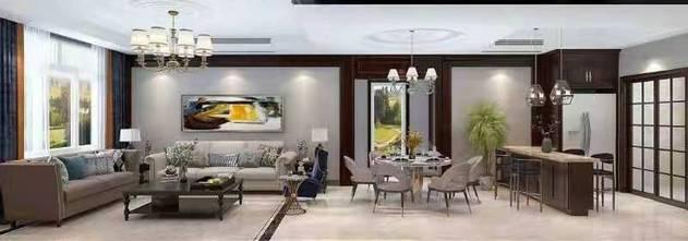 经济型140平米别墅混搭风格客厅装修图片大全