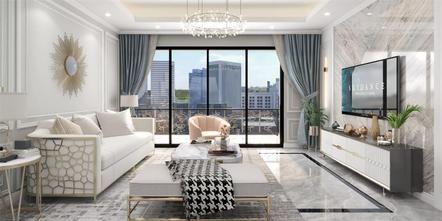 经济型120平米三混搭风格客厅图片