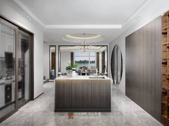 豪华型140平米复式中式风格餐厅装修案例