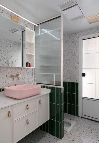 经济型80平米三室一厅混搭风格卫生间图片