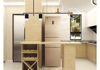 5-10万60平米一居室日式风格餐厅效果图