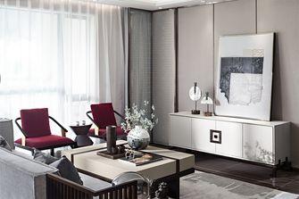 豪华型80平米三室一厅中式风格客厅装修图片大全