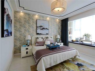 富裕型90平米三室一厅中式风格卧室图片大全