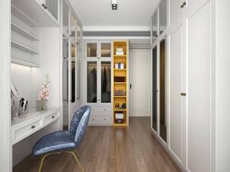 豪华型110平米三室一厅北欧风格衣帽间图