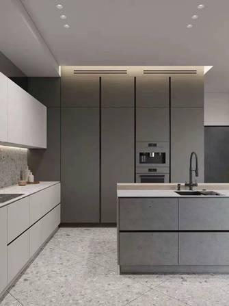 10-15万130平米三室两厅港式风格厨房欣赏图