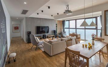 10-15万80平米三室一厅北欧风格餐厅装修效果图