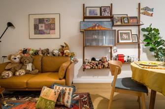 40平米小户型混搭风格客厅装修案例