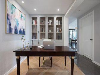 140平米三室一厅美式风格书房装修案例