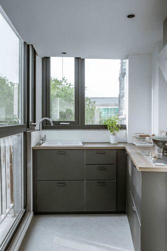 3-5万40平米小户型现代简约风格厨房装修效果图