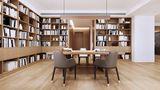 120平米三混搭风格书房装修案例