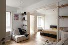 富裕型140平米三室两厅法式风格阳光房欣赏图