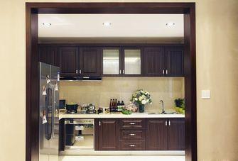 豪华型110平米三室一厅中式风格厨房图片