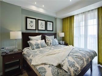 50平米一室一厅田园风格卧室图