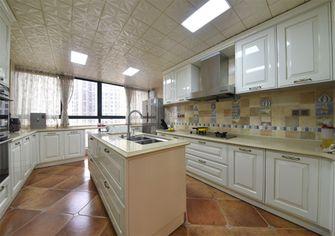 豪华型140平米复式美式风格厨房装修图片大全