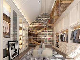 20万以上140平米别墅欧式风格衣帽间效果图