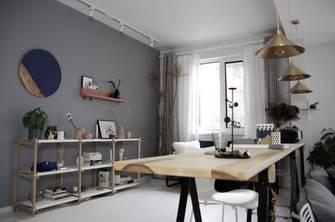 豪华型140平米四室四厅北欧风格餐厅图