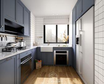 豪华型130平米三室两厅英伦风格厨房效果图