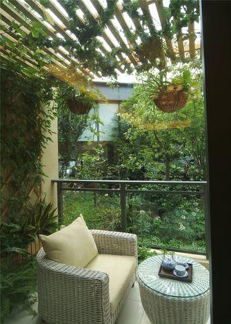 富裕型70平米一室一厅欧式风格阳台装修效果图
