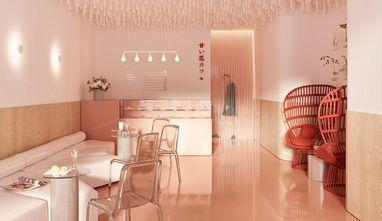 复式公装风格餐厅设计图