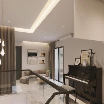 豪华型140平米复式现代简约风格阁楼图片