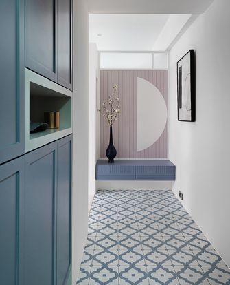 富裕型100平米三室两厅美式风格玄关设计图