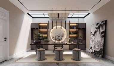 豪华型140平米别墅美式风格储藏室效果图