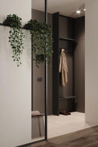 60平米一居室现代简约风格玄关欣赏图