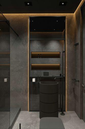 富裕型80平米一室一厅轻奢风格卫生间装修图片大全