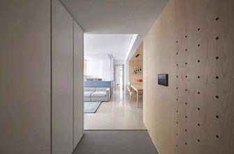 富裕型80平米三室两厅日式风格玄关设计图