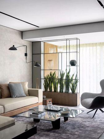富裕型140平米三室两厅工业风风格客厅欣赏图
