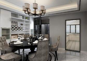 130平米三室一厅混搭风格餐厅装修案例