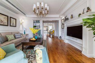 富裕型140平米四室一厅美式风格客厅装修图片大全