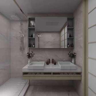经济型140平米四室两厅日式风格卫生间装修图片大全