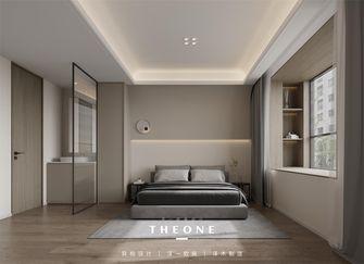 富裕型100平米一室两厅现代简约风格卧室图片