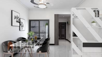 经济型90平米三室两厅现代简约风格餐厅图片大全