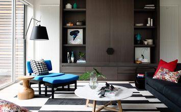 富裕型120平米三美式风格客厅欣赏图