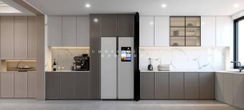 豪华型140平米四室五厅混搭风格厨房图片