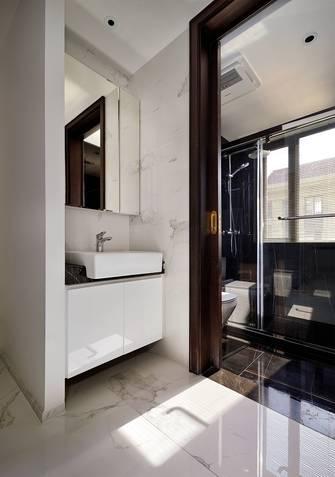 经济型100平米三室一厅现代简约风格卫生间图片大全