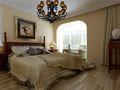 三室两厅田园风格卧室图片大全